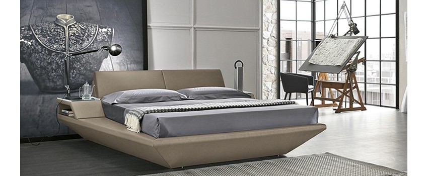Online sale of upholstered beds, textiles, eco-leather, design, capito